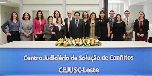 Inauguração do Centro Judiciário de Solução de Conflitos da Zona Leste